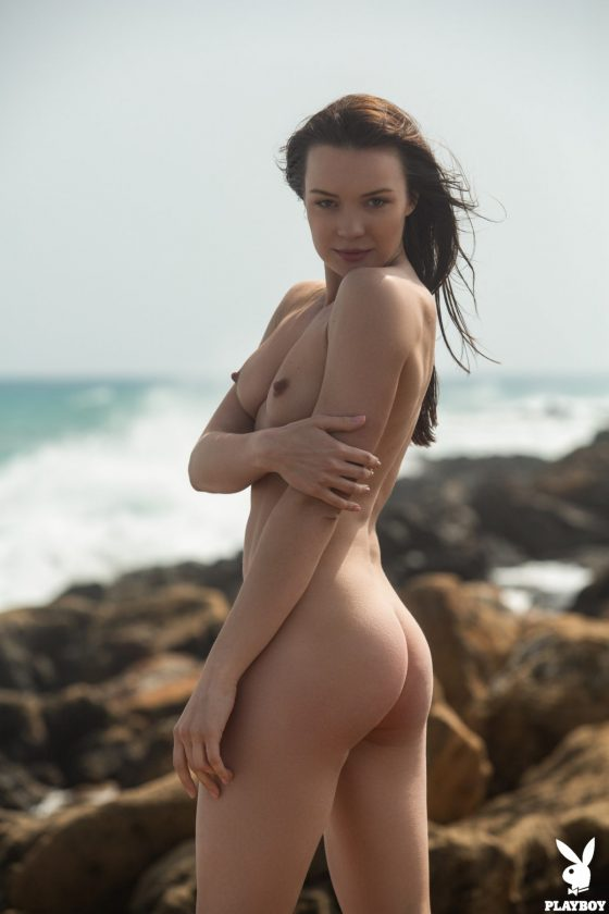 Janeth Tense Nude In Blue Angel Playboy Model Pictures